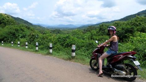 Luang Prabang motorbike