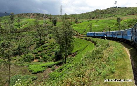 Sri lanka hill country train